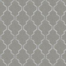 Silver Lattice Decorator Fabric by Stroheim