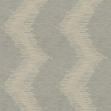 Oatmeal Chevron Decorator Fabric by Stroheim