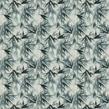 Blue Spruce Asian Decorator Fabric by Vervain