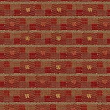 Madras Red Decorator Fabric by Robert Allen