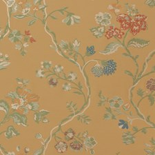 Honey Floral Decorator Fabric by Vervain