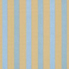 Indigo Stripes Decorator Fabric by Vervain