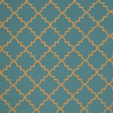 Peacock Lattice Decorator Fabric by Vervain
