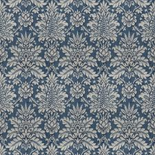 Indigo Print Pattern Decorator Fabric by Vervain