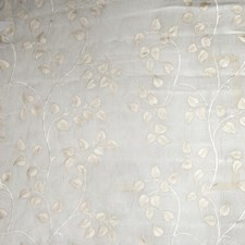 Ivory Floral Decorator Fabric by Stroheim