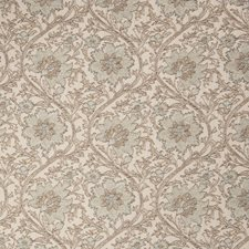 Sea Tint Floral Decorator Fabric by Stroheim