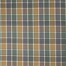 Harbor Gray Check Decorator Fabric by Stroheim