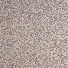 Scarlet Floral Decorator Fabric by Stroheim