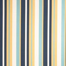 Beach Stripes Decorator Fabric by Stroheim
