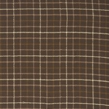 Brownstone Check Decorator Fabric by Trend