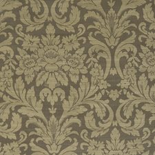 Olive Damask Decorator Fabric by Trend