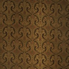 Coffee Bean Paisley Decorator Fabric by Trend