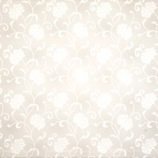 Snow Floral Decorator Fabric by Trend