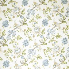 Denim Jacobean Decorator Fabric by Trend
