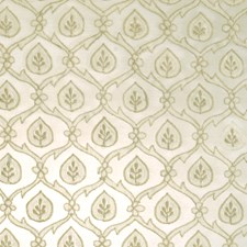 Gold Leaves Decorator Fabric by S. Harris