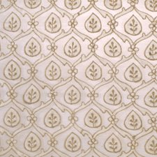 Natural Leaves Decorator Fabric by S. Harris