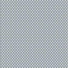 Cobalt Geometric Decorator Fabric by Trend