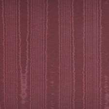 Burgundy/Red Moire Decorator Fabric by Kravet