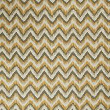 Citrine Flamestitch Decorator Fabric by Fabricut