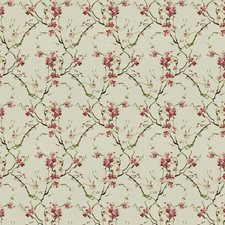 Petal Pink Floral Decorator Fabric by Trend