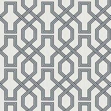 Sapphire Lattice Decorator Fabric by Trend