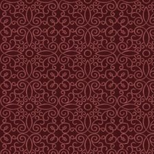Scarlet Embroidery Decorator Fabric by Trend