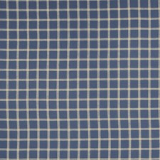 Indigo Check Decorator Fabric by Fabricut