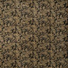Ebony Paisley Decorator Fabric by Fabricut
