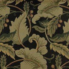 Black/sage Decorator Fabric by Duralee