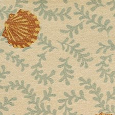 Aqua/gold Decorator Fabric by Duralee