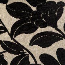 Black/creme Decorator Fabric by Duralee