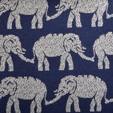 Indigo Animal Decorator Fabric by Duralee
