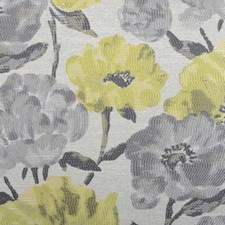 Canary Floral Medium Decorator Fabric by Duralee