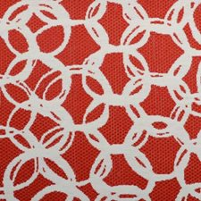 Red Pepper Abstract Decorator Fabric by Duralee