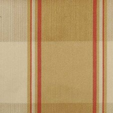 Antique Gold Plaid Decorator Fabric by Duralee