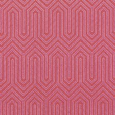 Magenta Abstract Decorator Fabric by Duralee