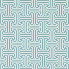 Aqua/green Decorator Fabric by Duralee