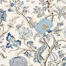 Delft Decorator Fabric by Scalamandre