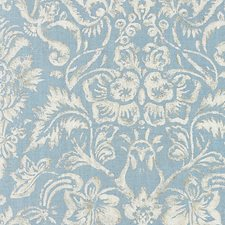 Bluestone/Silver Decorator Fabric by Scalamandre