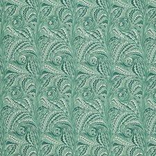 Viridian Decorator Fabric by Schumacher