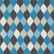 Peacock Decorator Fabric by Schumacher