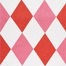 Red/Pink Decorator Fabric by Schumacher