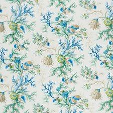 Blue/Green Decorator Fabric by Schumacher