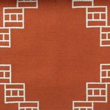 Tangerine Decorator Fabric by Highland Court