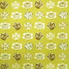 Green Tea Floral Decorator Fabric by Fabricut