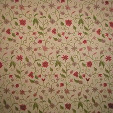 Beige Raspberry Decorator Fabric by B. Berger