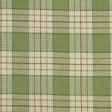 Green/red Decorator Fabric by Highland Court