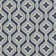 Indigo Boucles Decorator Fabric by Highland Court