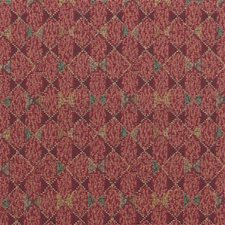 Burgundy/Red Bows Decorator Fabric by Kravet