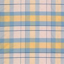 Blue Ic Plaid Decorator Fabric by Lee Jofa